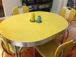 yellow kitchen table and chairs vintage kitchen table and chair set vintage kitchen kitchens and