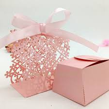 wholesale favors fb022 manufacturers selling wedding laser cut candy box creative