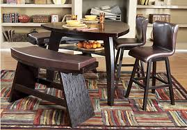 rooms to go dining sets shop for a noah 5 pc pub at rooms to go find dining room sets