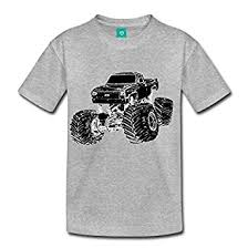 amazon monster truck toddler premium shirt spreadshirt