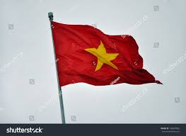 Flag With Yellow Star Flag Vietnam Yellow Star On Red Stock Photo 149810822 Shutterstock