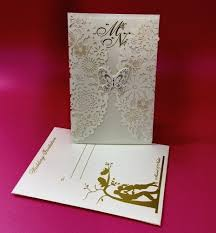 marriage card floral theme laser cut marriage card laser cutting wedding