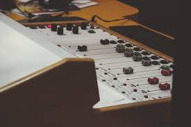 Studio Console Desk by Free Images Music Technology Guitar Equipment Studio Club