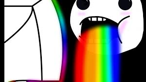 Drooling Rainbow Meme - drool faces meme rainbows wallpaper 142098
