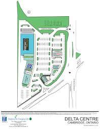 Easton Mall Map Delta Centre In Cambridge Ontario Ontario 11 Stores