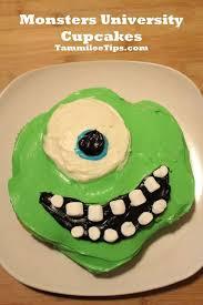 25 monster university cupcakes ideas