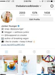 biography for instagram profile the art of the instagram bio the balanced blonde