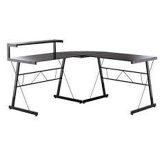 bureau angle noir grand bureau d angle caisson de bureau design la rochelle with