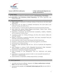 Sap Basis Sample Resume by Qa Resume 10 Software Test Engineer Sample Resume Cruise Attendant