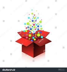 magic gift box big surprise stock vector 63500677 shutterstock