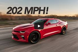 camaro top speed 751 hp hennessey camaro ss tested to 202 1 mph hennessey performance