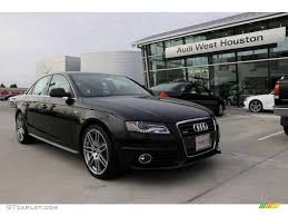 2010 a4 audi 2010 phantom black pearl effect audi a4 2 0t quattro sedan