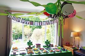 minecraft birthday party my mario boy minecraft birthday party ideas
