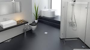 bathroom with wallpaper ideas bathroom wallpaper on black floor hd wallpaper
