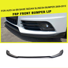 audi s4 front bumper black frp a4 s4 front bumper lip for audi a4 b8 s4 8k base sedan 4