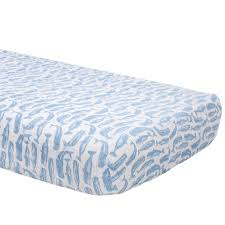 Muslin Crib Bedding Muslin Crib Sheet Whales Spearmint Ventures Llc