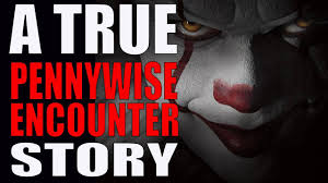 a true pennywise encounter story in thanksgiving 2017 scary