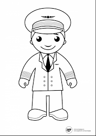 wonderful pilot printable coloring pages with community helpers