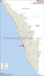 Florida Map Beaches by Kochi Location Map Where Is Kochi