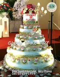 wedding cake murah glow cake