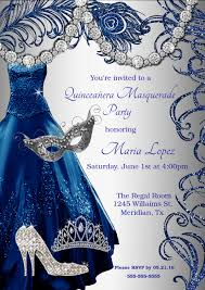 quinceanera masquerade invitation sweet 15 invitations sweet