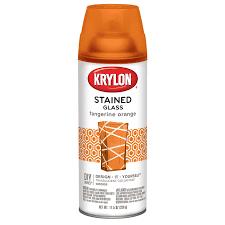 shop krylon tangerine orange enamel spray paint actual net