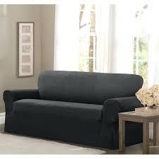 one piece stretch sofa slipcover one piece sofa slipcover brooklinehavurahminyan info