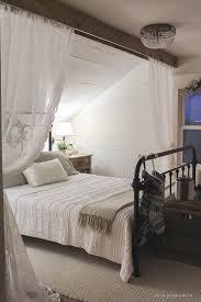 Best 25 Farmhouse Bed Frames by Best 25 Slanted Ceiling Bedroom Ideas On Pinterest Slanted