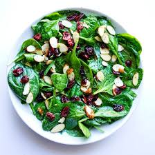 cranberry spinach salad replacement for thanksgiving