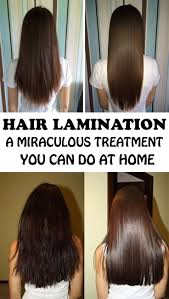 how to make hair strong hair lamination a miraculous treatment that you can do at home