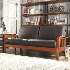mission style leather sofa full size of sofas sectionals breathtaking brown black leather