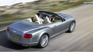 bentley silver 2012 bentley continental gtc silver back side wallpaper
