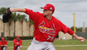 goold lefthanded pitcher now among cardinals needs st louis