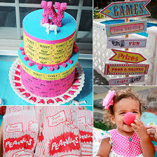 Circus Birthday Decorations 1st Birthday Themes Summer Party Themes Inspiration