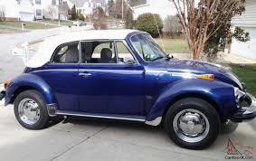 1979 vw volkswagen beetle convertible vw super beetle convertible excellent condition