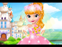 design princess sofia u0027s wedding dress sofia games