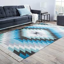 Teal Outdoor Rug Valentina Blue Indoor Outdoor Rug U0026 Reviews Birch Lane