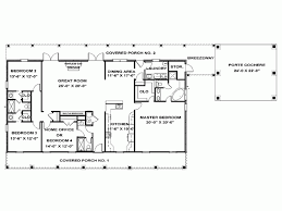 4 bedroom one story house plans eplans ranch house plan single story southern 2492