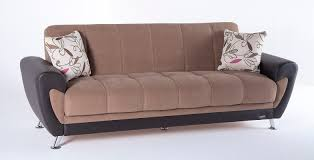 Sofa Come Bed Furniture Duru Optimum Brown Convertible Sofa Bed By Sunset