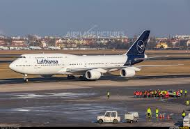 bureau lufthansa d abya lufthansa boeing 747 8 at berlin tegel photo id