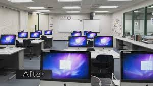 How To Decorate Computer Room Room Computer Room Lighting Room Design Ideas Simple On Computer