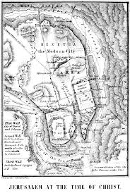Map Of Jerusalem File Map Of Jerusalem At The Time Of Christ Png Wikimedia Commons