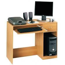 hypnotisant bureau pour ordinateur fixe meuble de finition hetre
