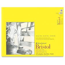 strathmore 300 series bristol board pads blick art materials