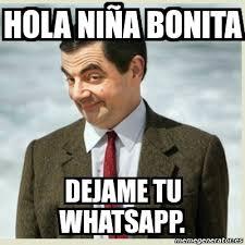 hola imagenes whatsapp meme mr bean hola niña bonita dejame tu whatsapp 1833514