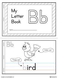 letter b mini book printable letter b mini books and beginning
