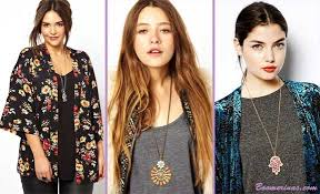 girl wear necklace images Boho jewelry 6 big styles for plus size women jpg