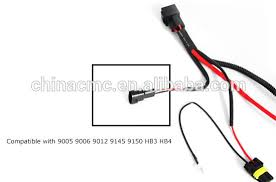 hid conversion kit relay wire harness adapter wiring heavy duty