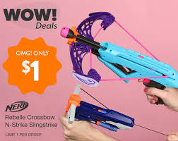 amazon black friday crossbows nerf crossbow or slingshot only 1 00 as low as free for new