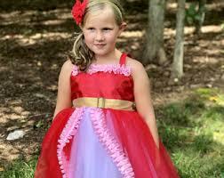 elena red dress etsy
